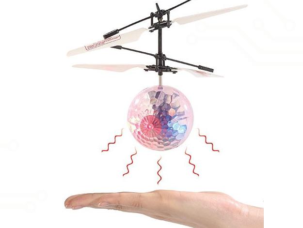 une boule drone volante autonome