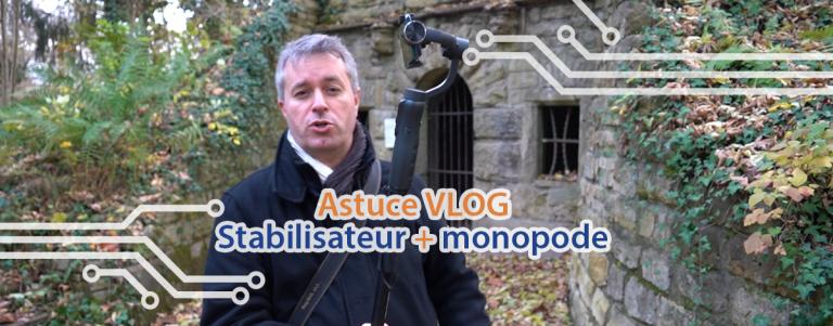 Astuces pour filmer des vlogs en combinant deux objets.