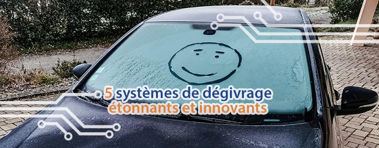 Découvrez 5 systèmes de dégivrage étonnants et innovants.