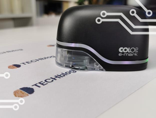 L'imprimante colop e-mark, le tampon du futur ?