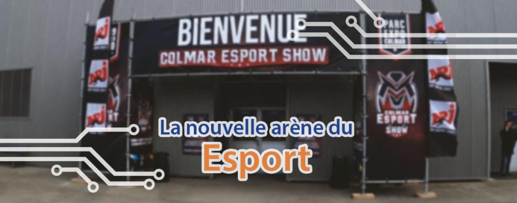 TECHblog au Colmar Esport Show : l'entrée de l'événement