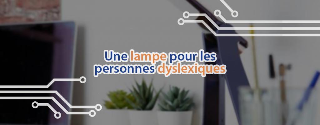 La Lexilight est une lampe à LED qui aide les personnes dyslexiques à lire sans difficultés.