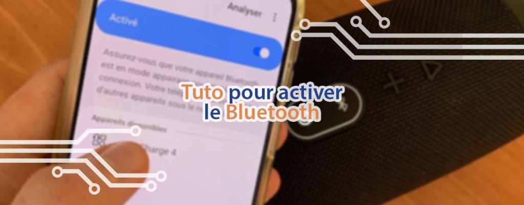 Tuto pour savoir comment activer le Bluetooth sur une téléphone mobile.
