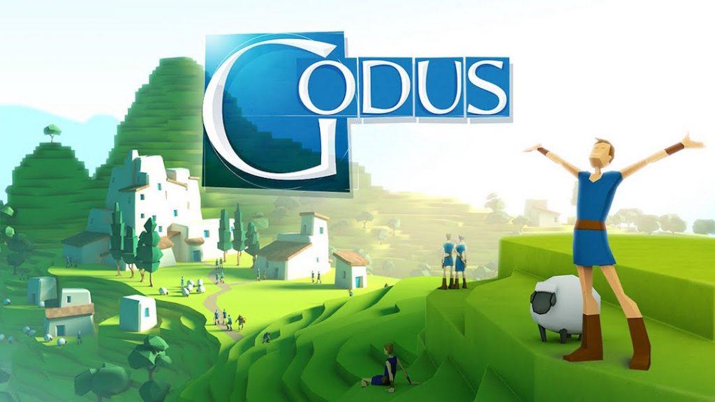 Visuel du jeu mobile Godus développé par 22Cans.