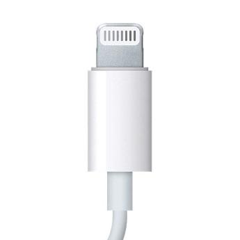 Le connecteur Lightning utilisé uniquement sur les appareils Apple.