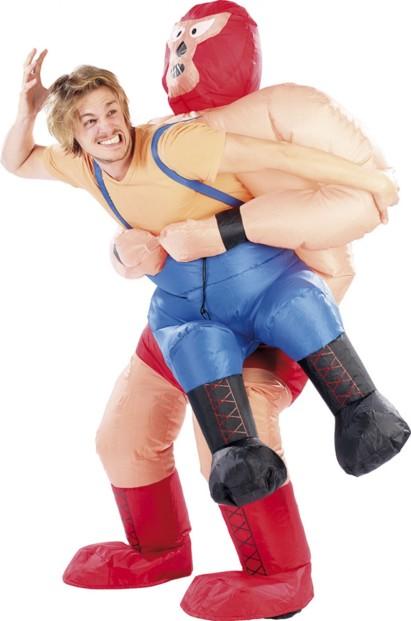 un costume de lutteur catcheur