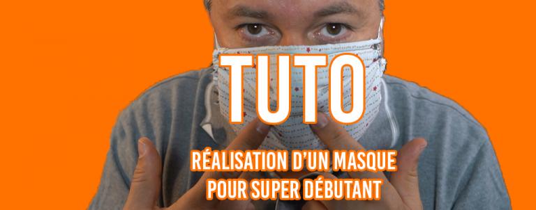 Cover tutoriel masque covid 19 couture
