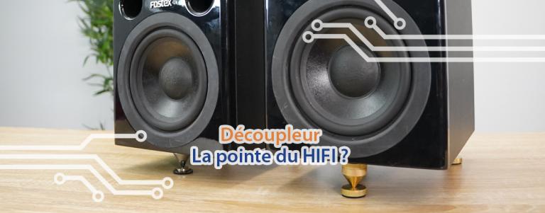 Couverture decoupleur audio enceinte