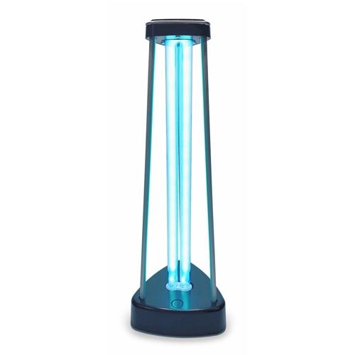 Une lampe UVC germicide avec diffuseur d'ozone.