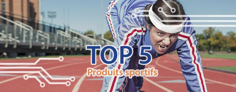 Couverture produits sportifs