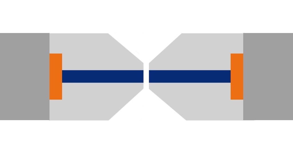Le polissage UPC d'un connecteur optique.