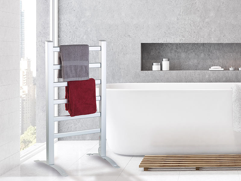 sèche-serviette électrique radiateur pour salle de bain