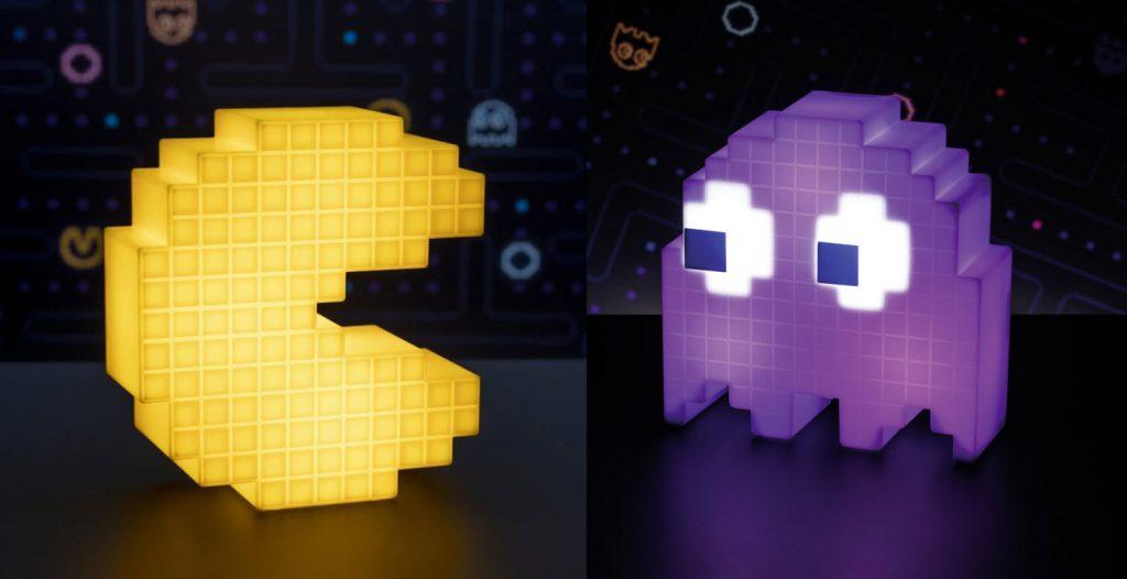 Lampes LED d'ambiance Pac-Man : cadeau parfait pour votre papa geek