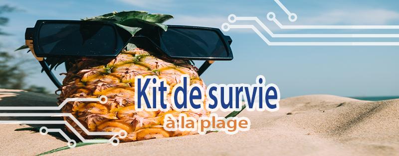 Photo de couverture kit de survie à la plage