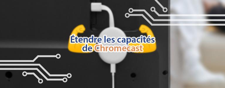 Améliorer les capacités de Chromecast avec Google TV à l'aide d'un Hub USB-C.