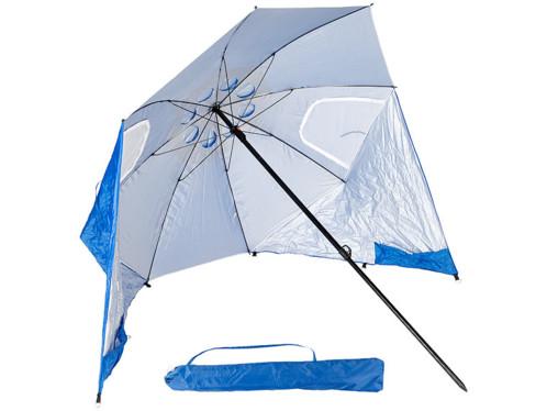 Parasols de plage avec protections latérales