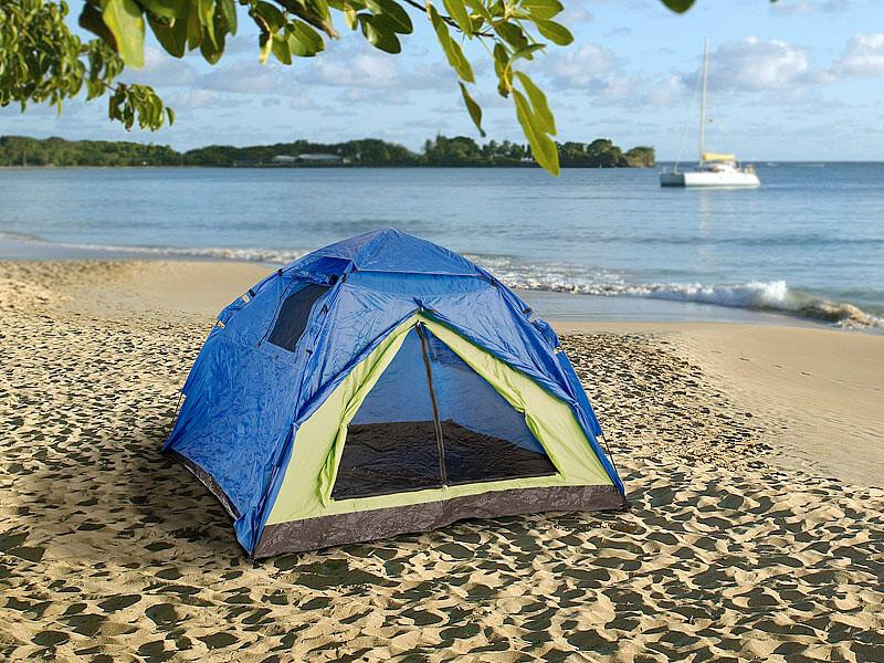 Tente coupole idéal pour les nuits d'été en famille