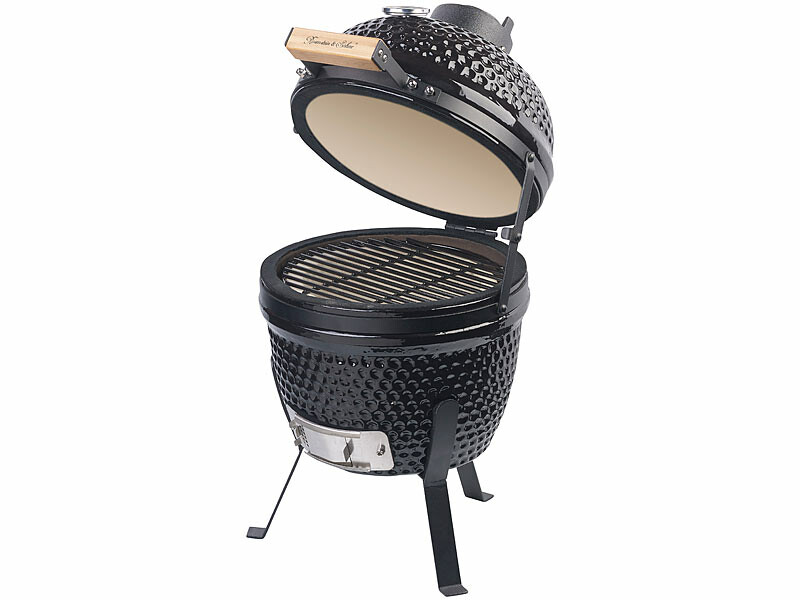 Pearl's charcoal barbecue: the ceramic kamado barbecue