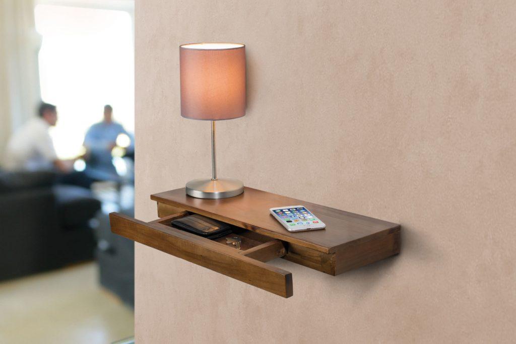 étagère avec tiroir secret pour décoration chambre