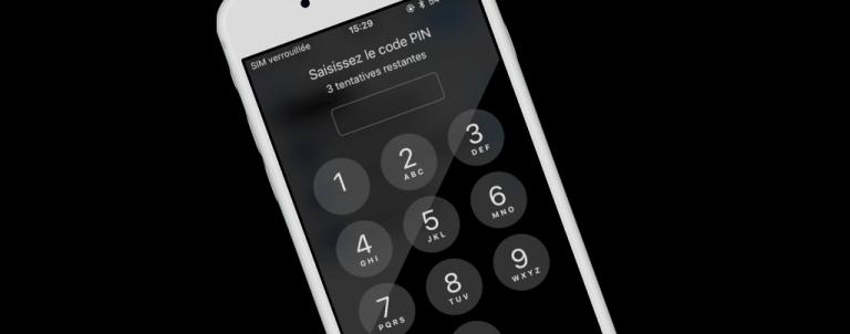 Comment modifier son code PIN sous iOS et Android.